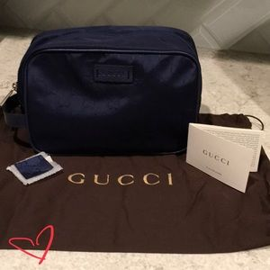 Gucci toiletry bag